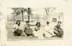 St. Peter's Catholic School cheerleaders, 1951
