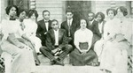 First graduating class from Rugg Street school, Hot Springs, Arkansas, 1910