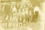Students of Piney School in Carroll County, 1899