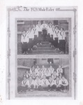 The 1924 Mulerider first team and entire basketball squad