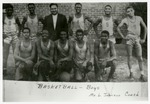 Malvern Colored High School boy's basketball team