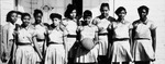 Conway High School girl's basketball team, 1955