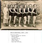Portia High School girl's basketball squad