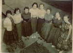 Jonesboro High School 1957 cheerleaders