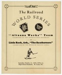 Program, the Railroad World Series