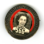 Southwestern Proving Ground ID badge