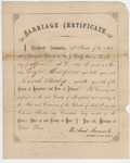 Taylor Kirkpatric and Sarah Bishop marriage license
