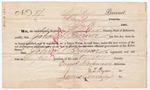 Voter registration of John S. Turner