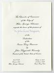 Invitation to AHC Director, John L. Ferguson