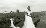 Bride, Katie Johnson, from the