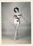 1959 Arkansas State College beauty contestant