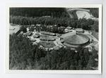 Aerial view of the Ozark Folk Center