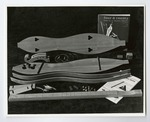Photograph of disassembled mountain dulcimer