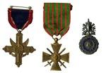 Herman Davis, Croix de Guerre Medal