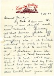 Letter, Marion Reed to family