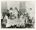 Catholic Benedictine Sisters and Students in Wynne