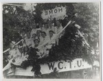 Woman's Christian Temperance Union parade float