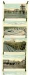 Series of 12 postcards of Camp Pike, Arkansas