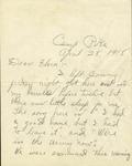 Letter from Benjamin Franklin Clark to Flora Hamilton, 1918 April 24