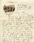 Letter from Benjamin Franklin Clark to Flora Hamilton, 1918 June 27