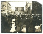 World War I Liberty Loan Drive at 5th and Main Streets in Little Rock