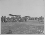 Men and planes at Eberts Field
