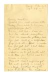 Letter, Sam Ethridge to