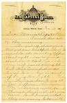 Letter, Harrell Burke to his parents, 1917 January 13
