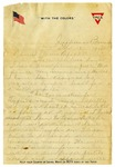 Letter, Harrel Burke to his family, 1917 December 18