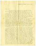 Letter, Harrell Burke to his father, 1918 June 2