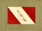 "Red and White ""Ark"" Flag"