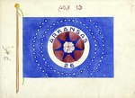 Blue Arkansas 26 Flag