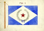Red Star and Laurel Wreath Flag