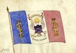 Marte Nostro/Regnant Populus Eagle Flag