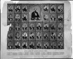 1881 Senate composite photo of the Twenty-Second General Assembly of the State of Arkansas by T. T. Bankes