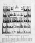 1885 Senate composite photo of the Twenty-Fifth General Assembly of the State of Arkansas by R. W. Dawson