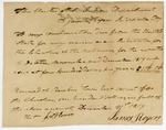 1819 December 31: United States Indian department to James Rogers, interpreter, Cherokee Indians, Claims for services