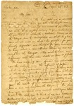 1820 April 22: Chiefs of Cherokee Nation on Arkansas River to Governor James Miller, Petition for protection against white settlers