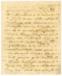 1820 May 24: William H. Crawford, U. S. Treasury Department, to Governor James Miller, Development of salt springs in Arkansas