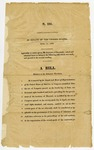 1820 April 11: In Senate of the United States, A bill relative to Arkansas Territory