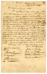 1820 June 18: Indians at Point Pleasant, [Arkansas Territory], to Governor James Miller, Petition