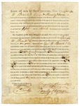 1820 April 5: Governor James Miller to George W. Brand and Company, and Farrelly and Curran, License to trade with Indians