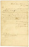 1820 January 1: R. Lewis, Cherokee Indian Agent, to the Secretary of War, Quarterly report