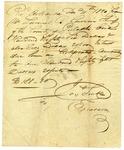 1820 December 11: James Scull, Territorial Treasurer, to Lemuel R. Currin, Sheriff of Pulaski County, Receipt