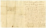 Undated [1821]: Citizens of Hempstead County to Governor James Miller, Petition for better enforcement of criminal laws