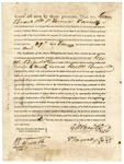 1821 January 29: Governor James Miller to George W. Brand and Company and Terrence Farrelly, License to trade with Indians