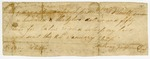 1821 January 24: Anthony Fulgham to L. P. Smith, Receipt