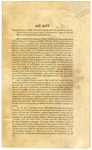 1822 May 6: In the Congress of the United States, Copy of act to regulate intercourse with Indians