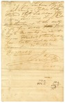 1822 November 30: James Scull, Territorial Treasurer, to George Seaborn, Sheriff of Phillips County, Receipt