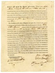 1823 December 18: Governor James Miller to John Miles, Elisha Dickerson, and William Trimble, License to trade with Indians